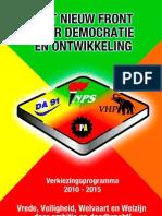 verkiezingprogramma2010nieuwfront