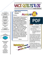 Newsletter AUG 2013