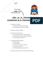 1 Introduccion Psicologia