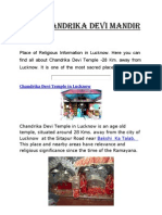 About Maa Chandrika Devi Mandir