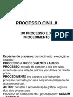 Dpc II - 01 - Processo e Procedimento
