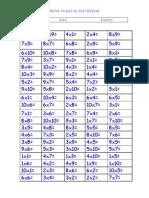 Prova Taules de Multiplicar
