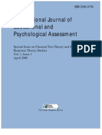 The International Journal of Educational and Psychological Assessment Vol 1
