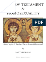 New Testament and Homosexuality