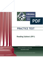 VCLA Reading PracticeTest