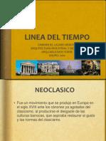 Linea Del Tiempo Arq. Industrial y Moderna