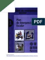 Plan de Emergencia Escolar 2010