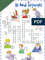 Ailments Crossword