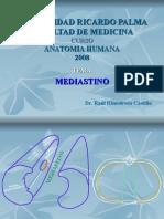3ra Clase Torax - Mediastino - Dr. Hinostroza