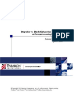 Stepwise vs. Block-Exhaustive Regression A Comparison using Clinical Data Clinical Study