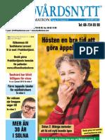 Tandvårdsnytt augusti 2013 - Tandläkarna Larsson i Solna
