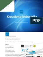 Kreativna Industrija-Creative Space Serbia platform