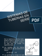 Sistema de Tuberias en Serie