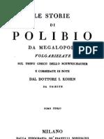 Polibio Da Megalopoli - Le Storie Vol. 3