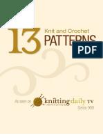 KDTV 900 Knit and Crochet Patterns