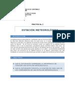 PRACTICA 2 ESTACION METEOROLOGICA