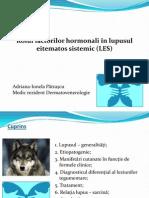 Rolul Factorilor Endocrini in Lupus