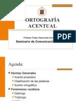 PPT ORTOGRAFÍA ACENTUAL
