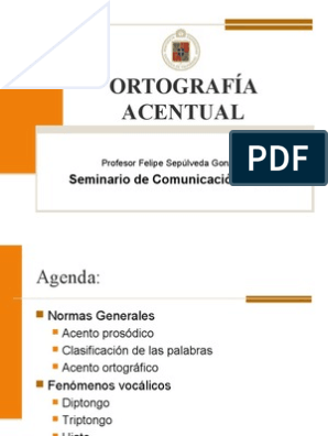 b6a9a27f6 PPT ORTOGRAFÍA ACENTUAL
