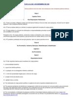 LEI Nº 8.112 - LEI DO SERVIDOR PUBLICO