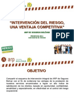Intervencion Del Riesgo 2011