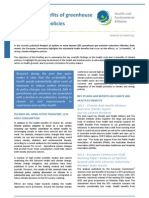 Key Studies and Reports on Climate and Health Co-benefits