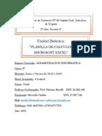 Planificacion de Unidad Didactica