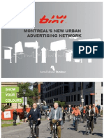 Bixi Advertising Presentation