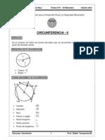 3b Ficha01 Geometria 5toano CIRCUNFERENCIA