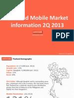 2Q 2013 Thailand Mobile Market Information