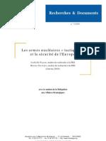 FRS - Les armes nucléaires tactiques et la sécurité de l Europe - 20080130