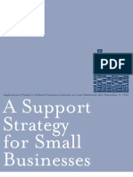 Support Strategy for Small Business