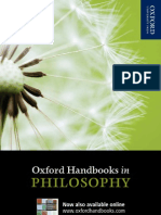 Philosophy Handbooks 2012