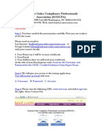 CSOE Certification Steps 1