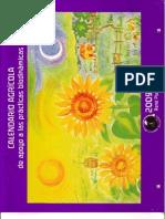 Calendario agricola de apoyo a las practicas biodinamicas