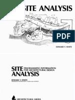 Site Analysis - Edward t White[1]