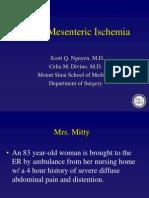 5 Mesenteric Ischemia