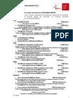 Oferta CAD CAM CAE PDM2010 Abonament