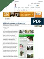 Na rota dos ameaçados muriquis - Cidade - Jornal Tribuna de Minas