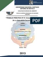 Estudio Hidrológico De La Subcuenca Pachacoto