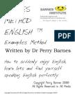 Barnes Method English @ Examples Method Metodo Do Exemplos