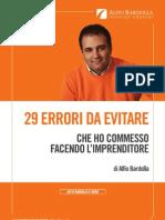 29errori Da Evitare Alfio Bardolla