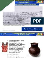 SIMPÓSIO BRASILEIRO DE CONSTRUÇÃO SUSTENTAVEL