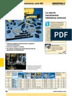 Enerpac HerramientasHidraulicas Conjuntos de Mantenimiento Serie MS