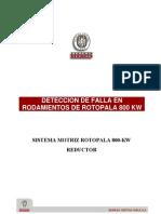 _nº1_Informe; DETECCION DE FALLA EN ROTOPALA