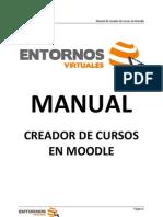 Manual de Creador de Cursos - Moodle