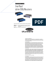 Linksys BEFSR41 Manual