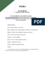 Jean Racine Fedra