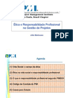 1800040-2006-08 - PMI - Etica e Responsabilidade Profissional Na Gestao de Projetos
