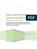 Ensayo sobre la Situación Económica en México